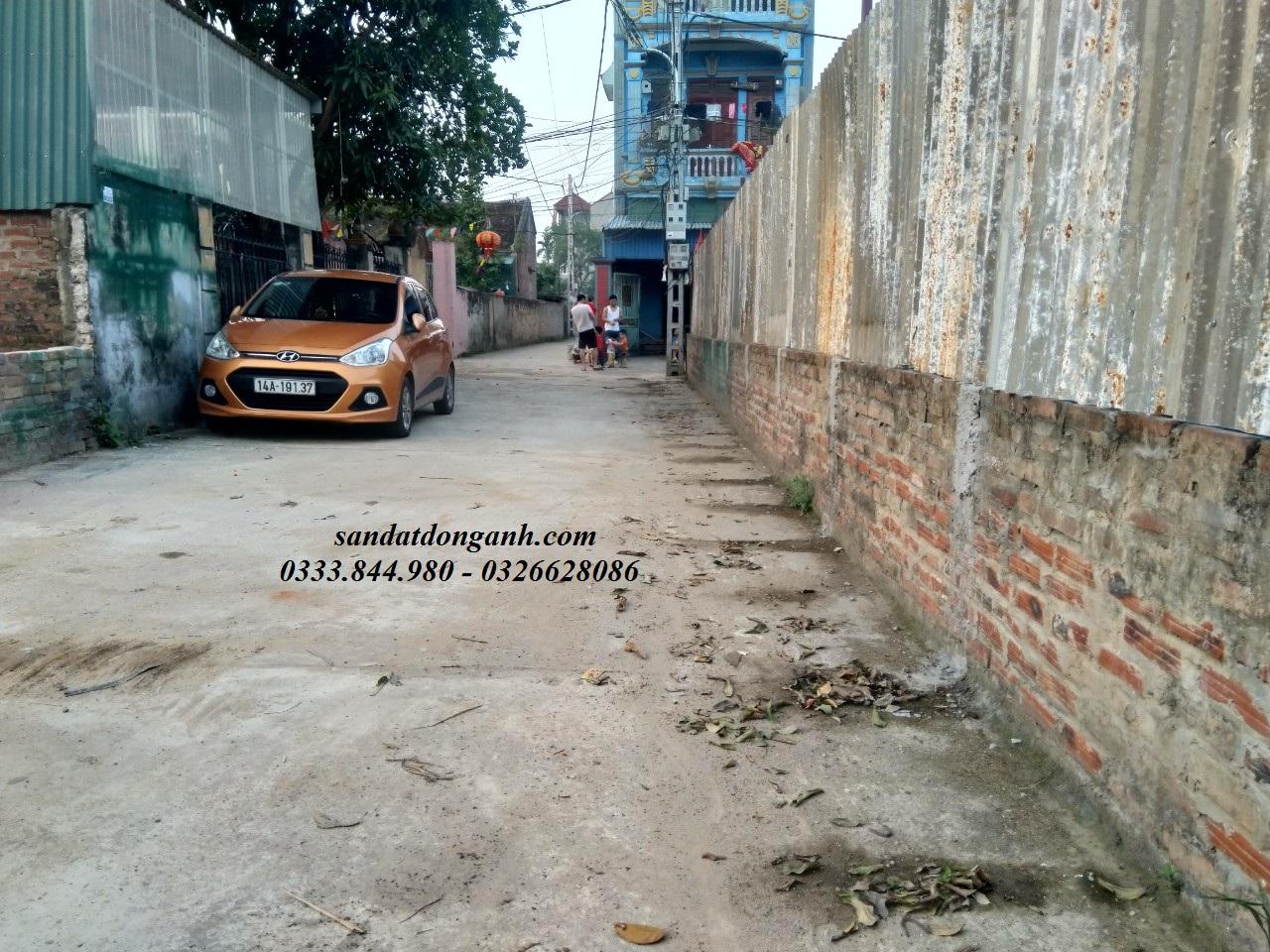 Bán đất Vân Nội: Đất vỏ làng Viên Nội -212m đường oto tránh nhau