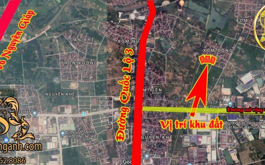 58m đất ở thổ cư  Xuân Nộn- Đường xe 7 chỗ đỗ cửa